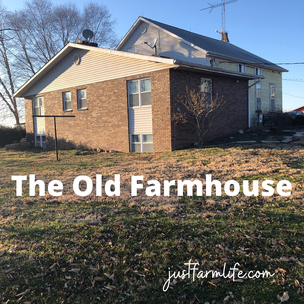 An old farmhouse in need of a makeover.