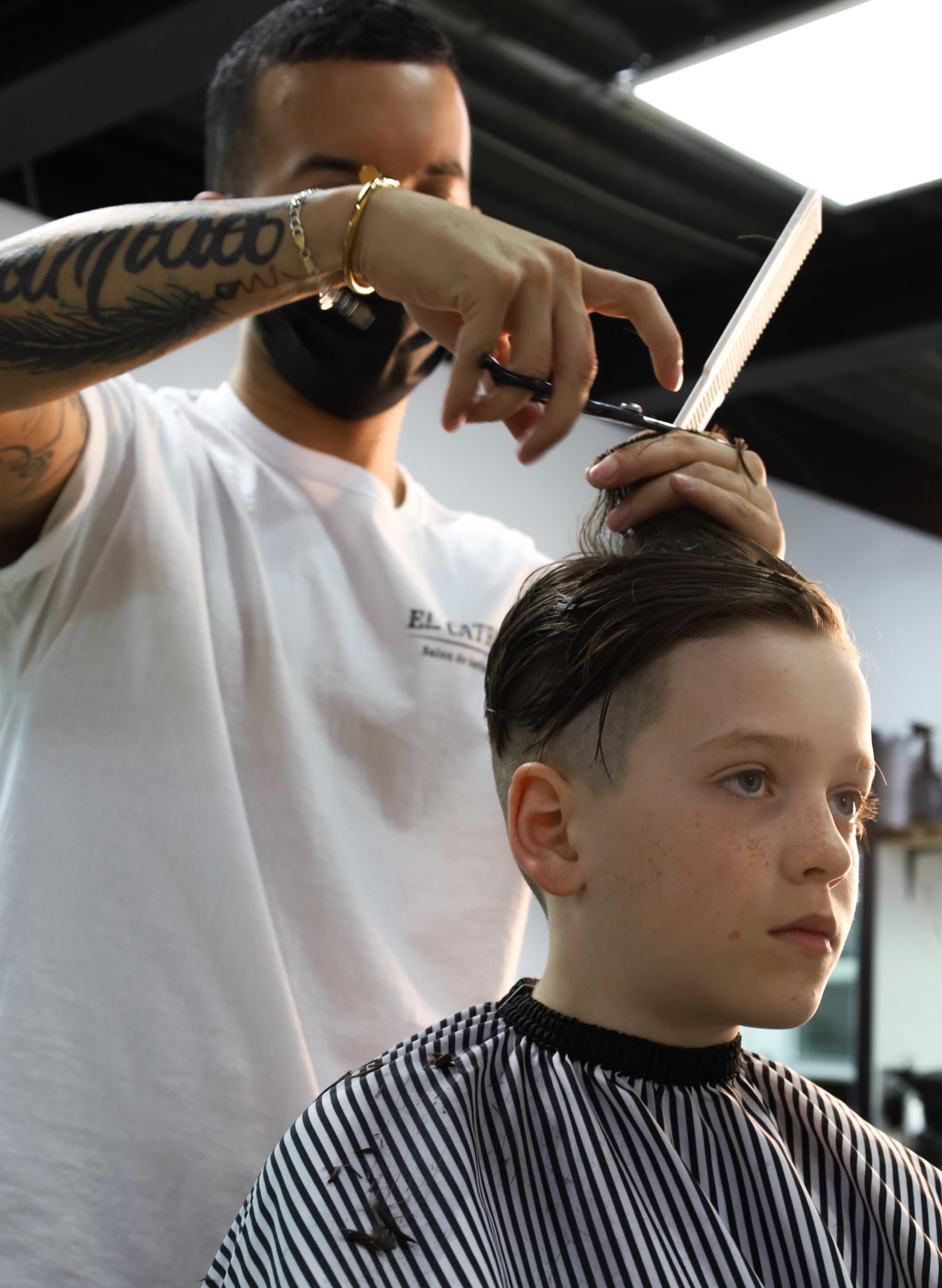 Coupe de cheveux Maître Barbier