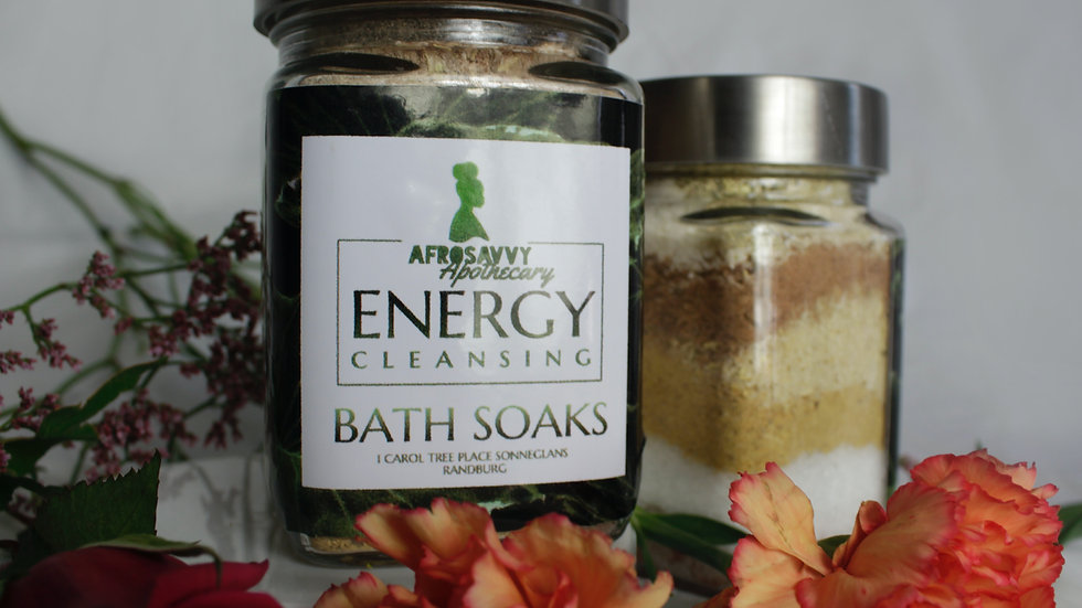 Energy Cleansing Bath Soaks