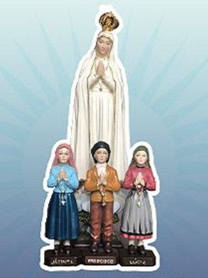Virgen de Fátima con pastores/sujeto a disponibilidad