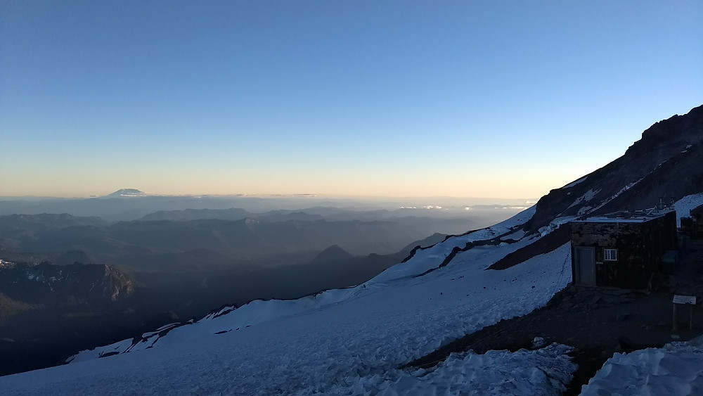 Mt. St. Helens from Camp Muir