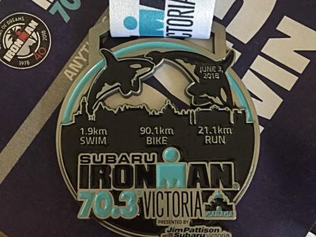 Ironman 70.3 Victoria 2018