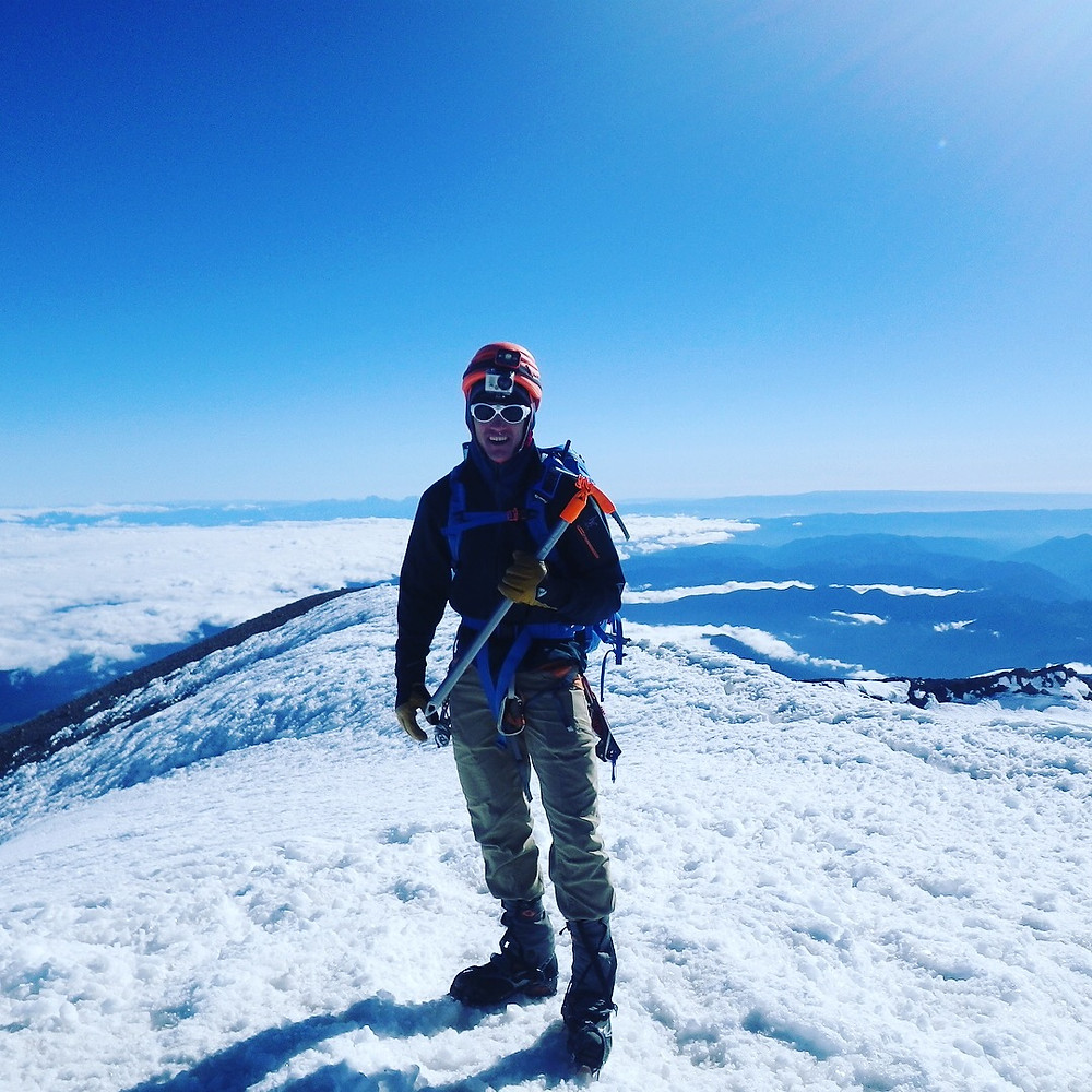 summit of Mt. Rainier