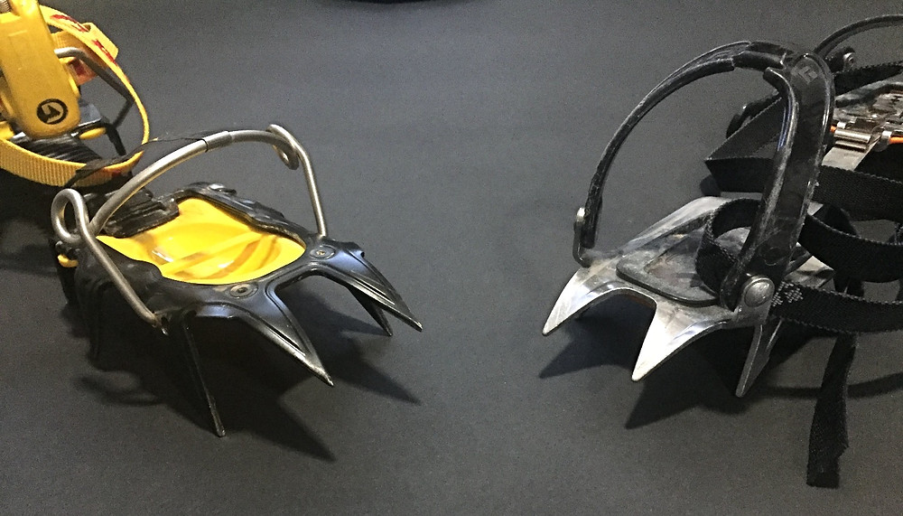 Grivel G12 and Black Diamond Contact