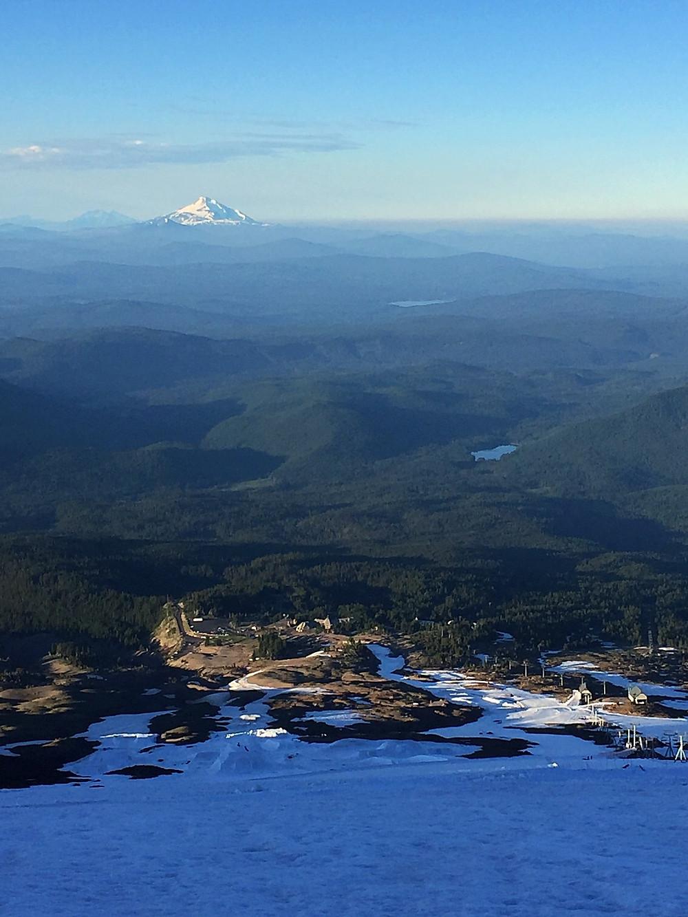 Mt. Jefferson from Mt. Hood