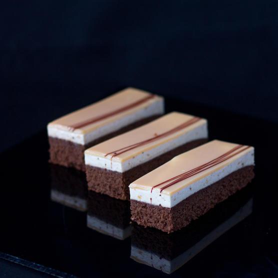Chocolate banana caramel