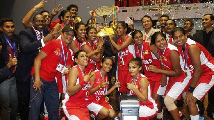 Sri Lanka Women bag Gold at inaugural South Asian Cager tourney