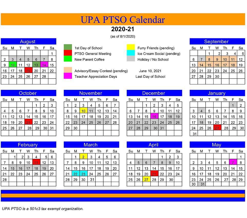 UPA PTSO Calendar - 2020-2021 Calendar.p