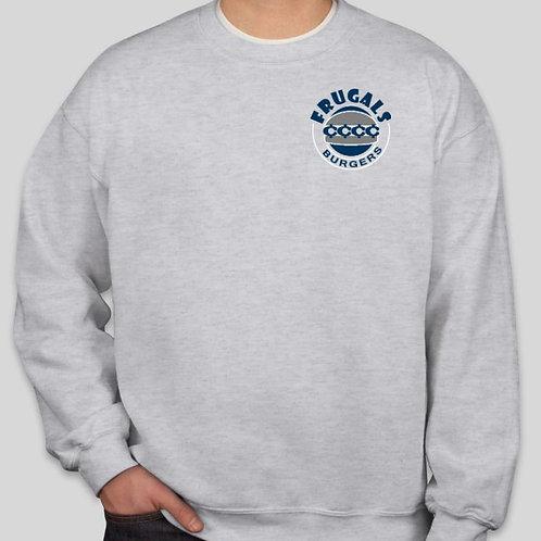 Frugals Crew Sweatshirt (Ash Grey)