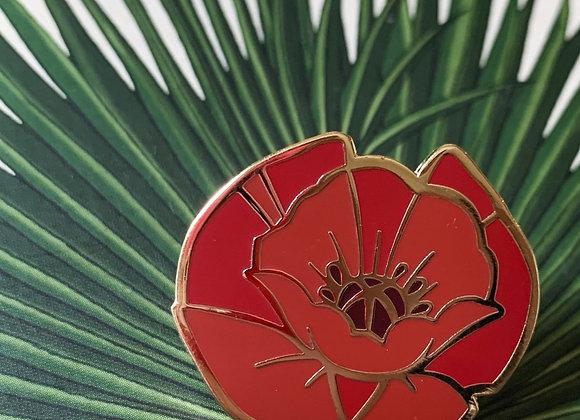 Poppy Hard Enamel Pin