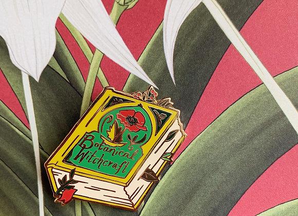Botanical Witchcraft Book Pin