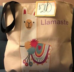 Llamaste Yoga Tote ($20)