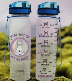 Llama Meditation Water Tracking ($20)Bottle