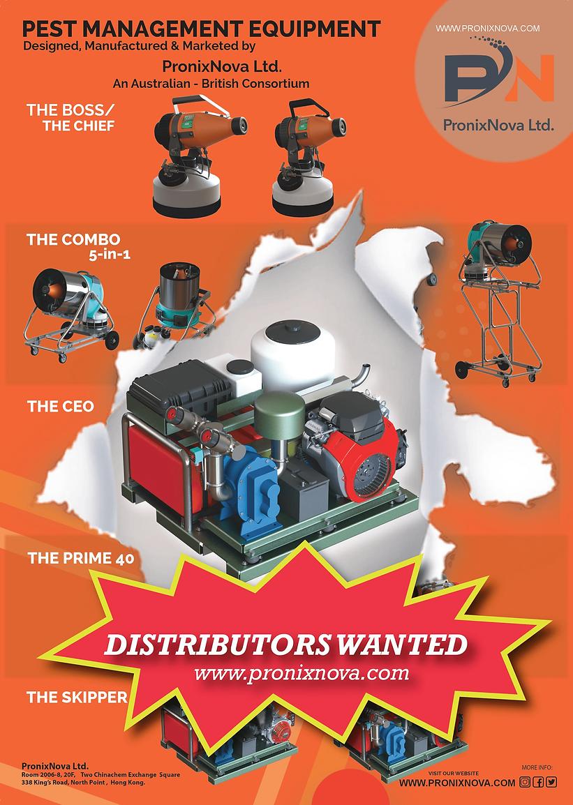 Issue July - International pest control.
