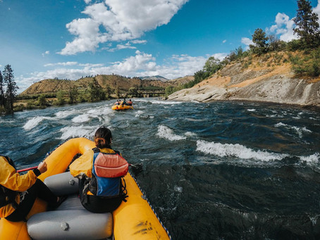 Just another Beautiful day on the Wenatchee River