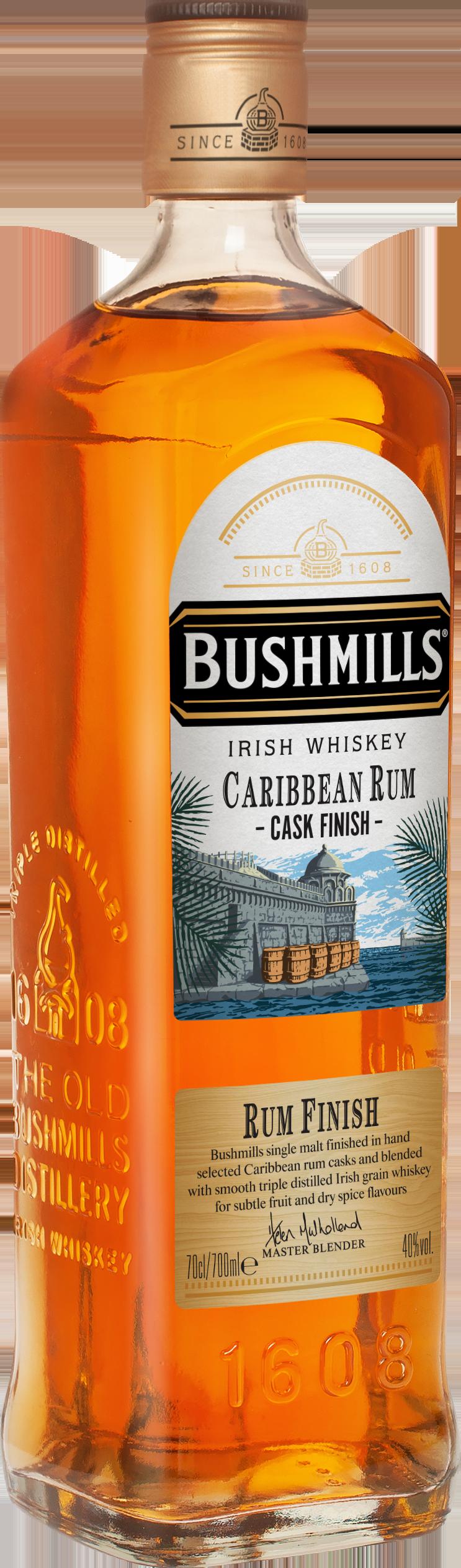 Bushmills Carribean Rum Cask Finish 700ml