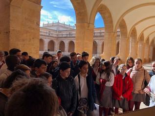 1º y 2º de ESO visitan la Biblioteca Valenciana de San Miguel de los Reyes