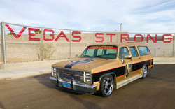 custom vegas golden knights truck wrap