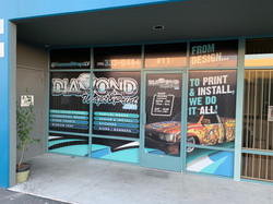 diamond wraps storefront