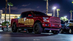 diamond wraps company truck