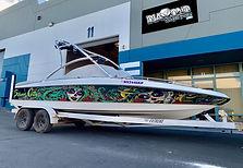 custom boat wraps done in las vegas
