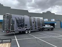 custom toy trailer wrap large las vegas.