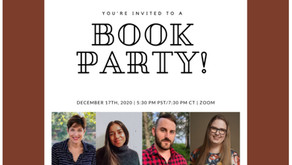 FOR WRITERS: Join us for a BOOK PARTY - December 17th!