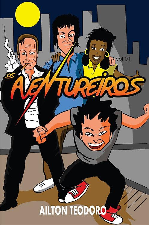 Capa para livro de quadrinhos