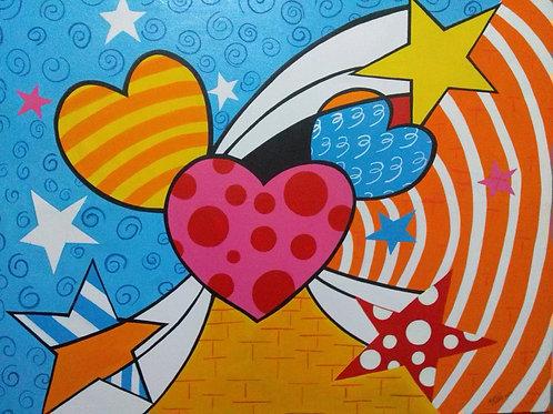 Tela Coração aberto