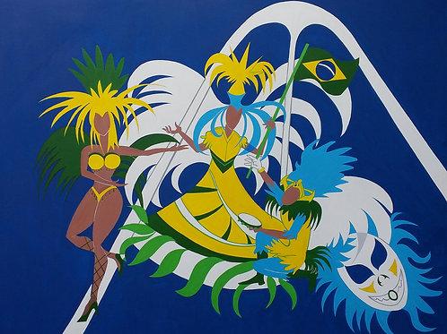 Tela Carnaval do Rio