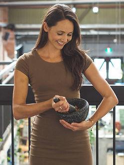 Nutritionist Amy Lloyd