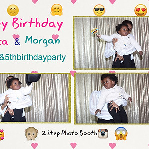 Monica & Morgan's Birthday