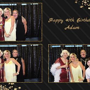 Adam's 40th Birthday
