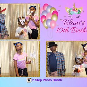 Tolani's 10th Birthday