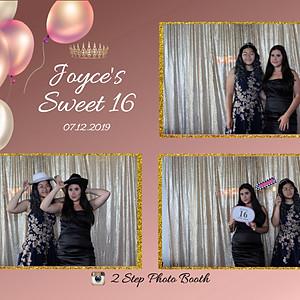 Joyce's Sweet 16