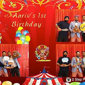 Aariv's 1st Birthday