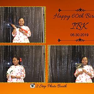 IBK's 60th Birthday