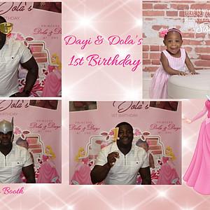 Dayi & Dola's 1st Birthday