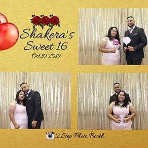 Shakera's Sweet 16