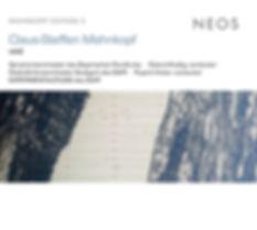 CD-Cover Claus-Steffen Mahnkopf - Void, Roland Kluttig, Dirigent