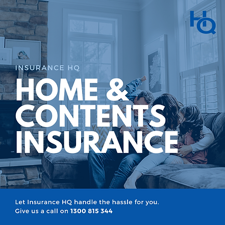 Home and contents insurance