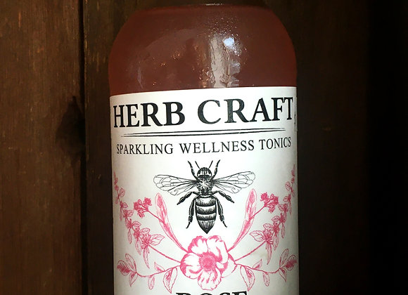 Herb Craft Rose Sparkling Soda