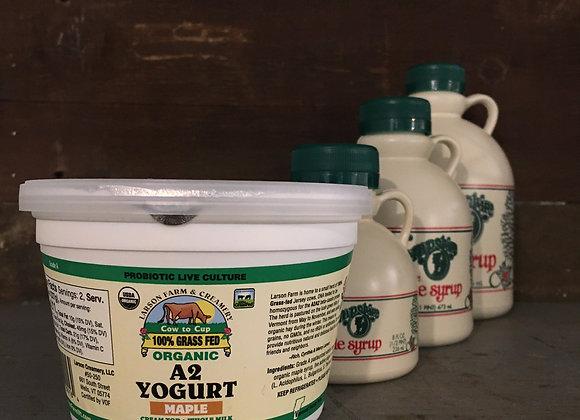 Larson Farm Organic Maple Yogurt
