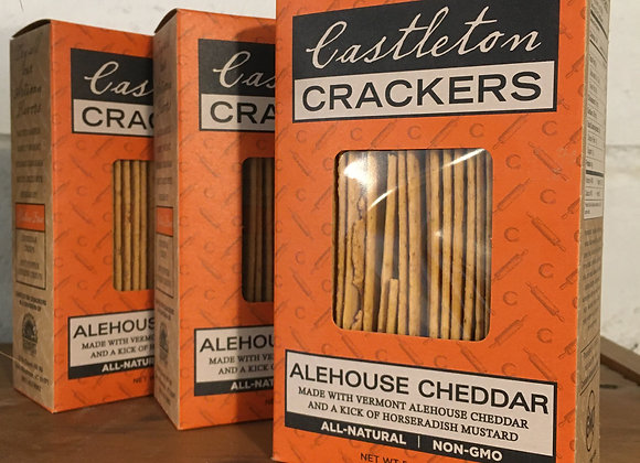 Castleton Alehouse Cheddar Crackers