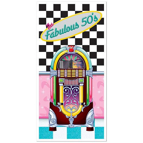 Fabulous 50's Door Cover - 5 Ft