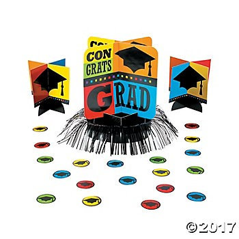 Graduation - Congrats Grad 23 Piece Table Decorating Kit