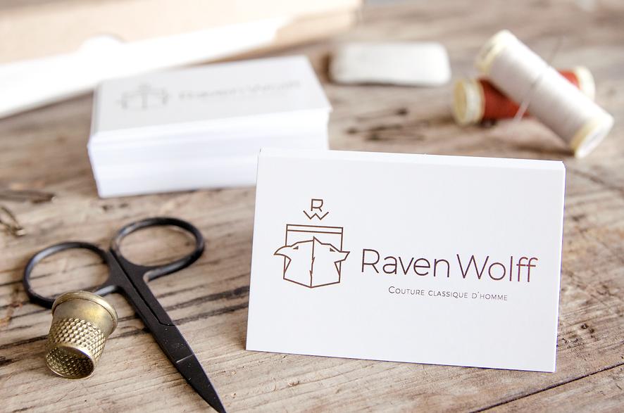 Tarjetas de visita de Raven Wolff