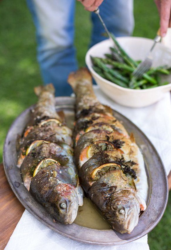 Comidas y Cenas de Pesca