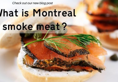 What is Montreal smoke meat?