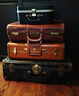 Vintage Luggage for rent in Houston, Dallas and Austin